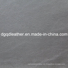 Gute elastische Qualitätsmöbel PVC-Leder (QDL-51556)