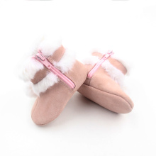 Cute Plush Ball Snow Girl Girl Boots
