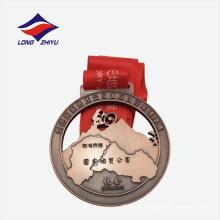 Médaille de promotion de métal de montagne en 3D en provenance de Chine