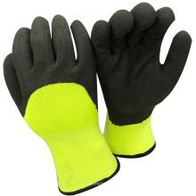 NMSAFETY Anti Licht Wasser Winter verwenden 7g halb beschichteten Winter Schaum Latex weichen Handschuhen