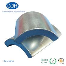 Imán potente N35 Propiedad estándar magnetizada a través del espesor