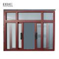 Алюминиевые створчатые двери окна с экраном в Китае