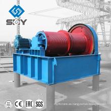 Alzamiento hidráulico eléctrico del malacate de la construcción