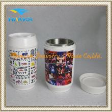 9oz en acier inoxydable Cola peut (CL1C-GS3C-B)