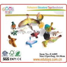 plastic bird toys model animal toys teaching resource