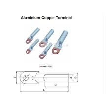Terminales de conexión de aluminio y cobre Terminal de cobre y aluminio