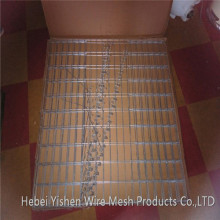 Military welded mesh gabion Hesco barrier