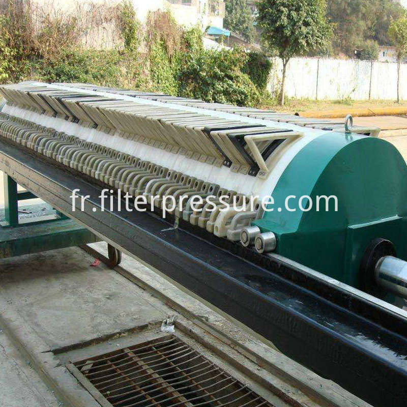 Round Filter Plate Filter Press
