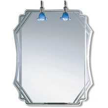 High Quality Decorative Silver Bathroom Mirror (JNA126)
