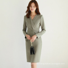 Woman Clothing 2020 New Spring Professional Dress Formal Occasions Workwear Office Lady Dress