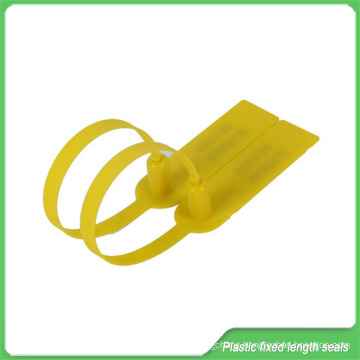 Security Plastic Seal, Fixed Length Seal for Trailer Doors, Bulk Tankers, Airfreight (JY270)