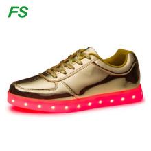2016 Mode Tanzschuhe mit LED-Leuchten, LED-Leuchten Freizeitschuhe, LED-Schuhe lässig
