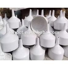Buchner embudo de porcelana de cerámica Embudo de cerámica de filtro