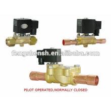 Electroválvula 220v sistema de refrigeração fechado normal