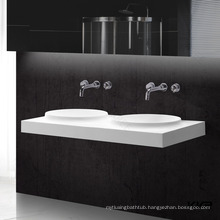 solid surface one piece vanity top bathroom vanity sink