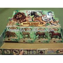 Пластмассовая дикая игрушка животных Природные игрушки мира животных Животный мир Пластиковые игрушки