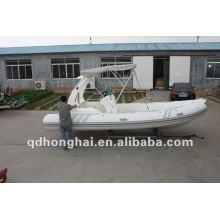 2012 RIB580B спорта надувная лодка 9 человек
