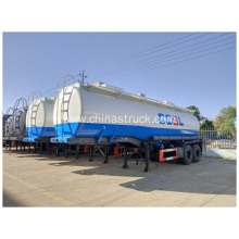 Hydrochloric Acid Chemical Road Tanker Trailer