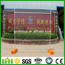 2016 Cheap Price 50*50mm galvanized and pvc coated Australia temporary fence/cheap pvc fence/ pvc post and rail fence