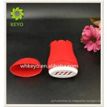 Desodorante recipiente personalizado de plástico 50g rodada recipiente desodorante creme torção vara