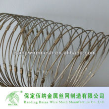 Передовая технология Наружная ограда из нержавеющей стали