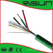 Shield Unshield 4 Cores Cables de alarma