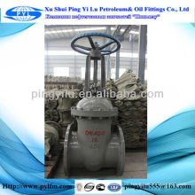 Válvula de compuerta para campo de gas natural