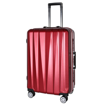 Wholesaler beautiful ABS PC luggage with TSA lock