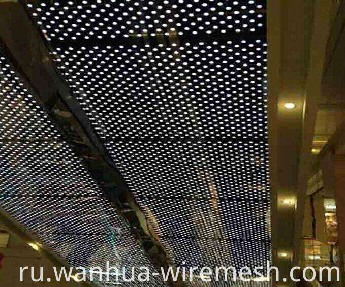 Decorative perforated sheet metal panels (1)
