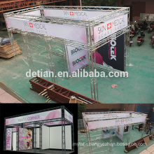 shanghai exhibition booth on sale aluminum lighting truss modular trade show booth
