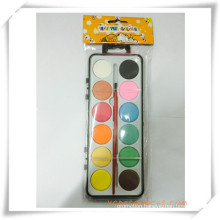 Colorful Promotional Solid-Dry Watercolor Paint Set for Promotion Gift (OI33009)