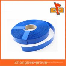 Hochwertige benutzerdefinierte Kunststoff blau Farbe PVC schrumpfen Film Hülse Rohr für Rohr, Batterie, trockene Zelle Verpackung China Hersteller