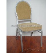 Chaise design ronde en aluminium XA174