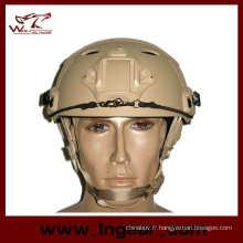 2015 plus récent fer militaire tactique casque Fast casque de parachutiste