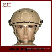 2015 mais novo tático militar capacete rápido capacete do ferro para para-quedista
