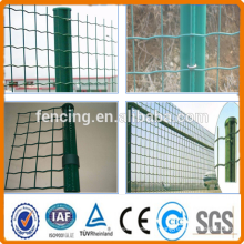 Anping factory 50x50mm PVC Euro Fencing 1.5m