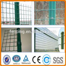 Anping factory 50x50mm PVC Euro Fencing 1.5m