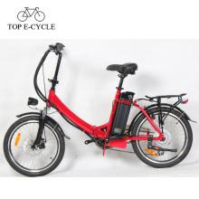 plegable bicicleta de carretera pedal assistingn ebike bicicleta eléctrica 2017