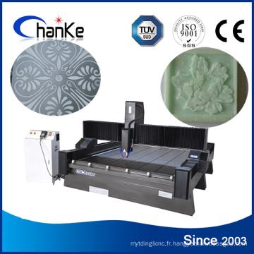 Machine de gravure en pierre de routeur CNC pour MDF en pierre de marbre
