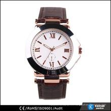 Reloj mecánico reloj de acero inoxidable caso de nuevo para hombres