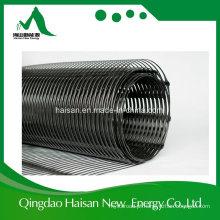 Profissional que reforça a alta qualidade 80-80kn Geogrid plástico uniaxial com certificação de Ce