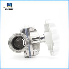 Stainless Steel 304/ 316L BPE Standard Hygienic Diaphragm Valve