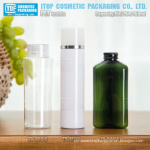 150ml various shape chinese factory outlets color customized hot-selling empty high quality pet bottle