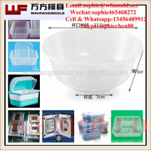 hot runner plastic thin wall food grade bowl mould made in China/OEM Custom plastic injection food grade bowl mold