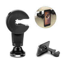 New patent backseat magnetic car mount phone holder 360 degree rotation for iPhone and for iPad