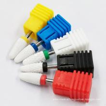 Factory Price Disposable Ceramic Nail Drill Bits For Salon Polish Manicure Pedicure