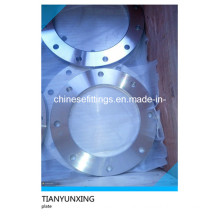 Forged Stainless Steel Flat Face Plate Flanges