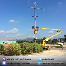 300W мини-ветровой турбины, ветер солнечной системы видеонаблюдения (мини 300W 12V)