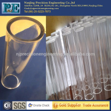 nanjing acrylic cnc turning tube, cnc machining platic bottle, fiber glass machining