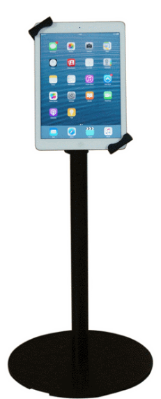 25007PQ IPAD tablet floor stand lower